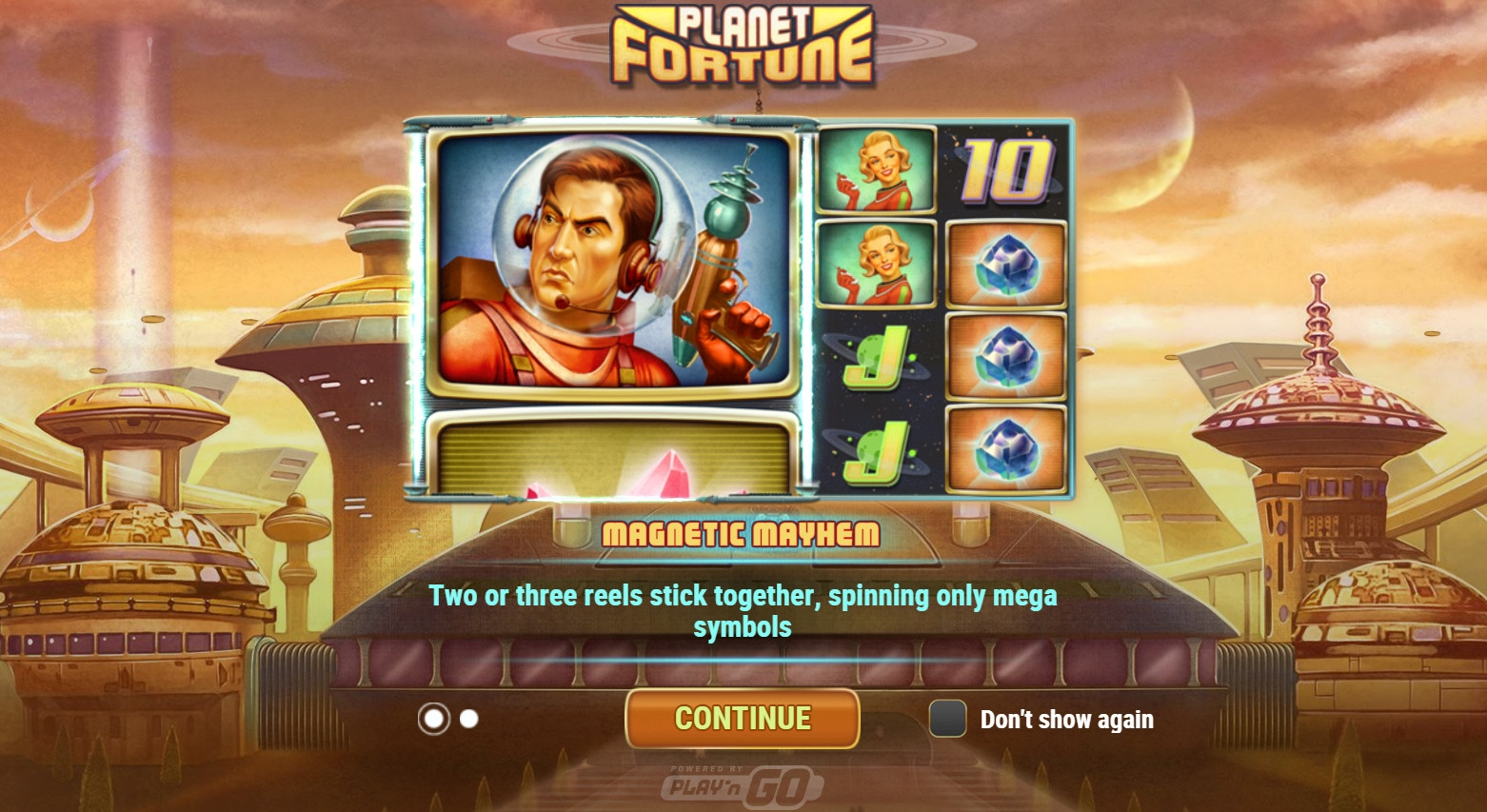 Planet Fortune video slot
